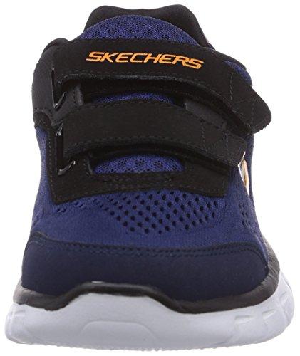 Skechers SYNERGY Jungen Sneakers Schwarz (Bknv)