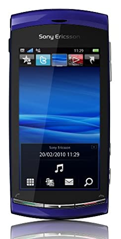 Sony Ericsson Vivaz Smartphone (UMTS, WLAN, 8.1 MP, HD-Video 720p) Galaxy Blue, Smartphone T-Mobile