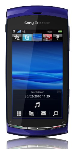 Sony Ericsson Vivaz Smartphone (UMTS, WLAN, 8.1 MP, HD-Video 720p) Galaxy Blue, Smartphone T-Mobile Branding (Tmobile Handys Galaxy)