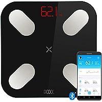 PICOOC Mini, báscula digital personal Smart con App, Bluetooth, análisis largo plazo PHMS, grasa corporal BMI agua masa muscular, Apple iOS, Android