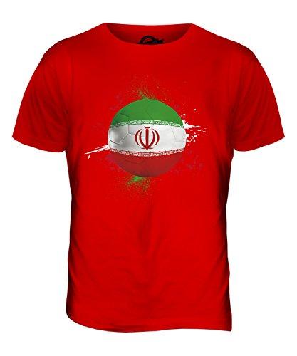CandyMix Iran Fußball Herren T Shirt Rot
