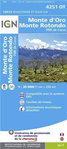 4251OT MONTE D'ORO/MONTE ROTONDO par COLLECTIF