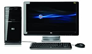 "HP p6374fr-m Ordinateur de bureau Ecran 23"" 8124 Mo 1 To Windows 7"