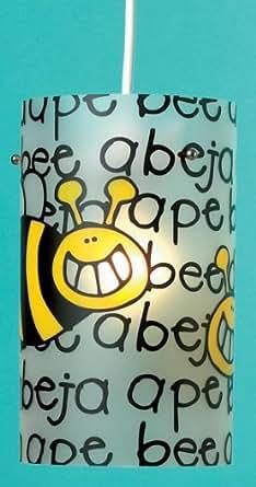 Pour Lampe Abat-jour Buzzy Bee Design Fun