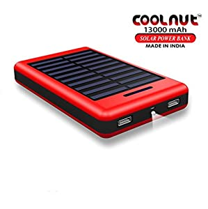 When It Comes To Having A Convenient And Safe Charging External Power Bank For Your Smartphone And Other Compatible Devices, Then This Powerful Coolnut 13000Mah Portable Charger Dual USB Output Solar Power Bank Is The Best Option For You. Thi...