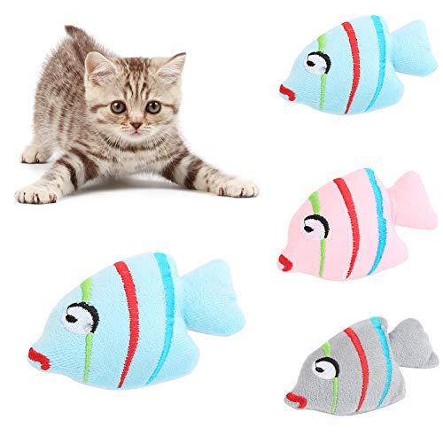 Katze Kostüm Zähne - xmelug Katze Katzenminze Plüsch Fisch Kätzchen