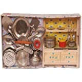 Homeshopeez Kids Kitchen Set - M(Color May Vary)
