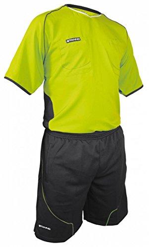 Stanno Lazio Schiedsrichter Set Trikot und Hose grün-grau lime-anthrazit, L