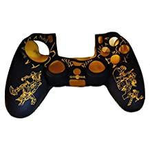 Hytech Plus PS4 God Of War Action Theme Feather Soft DualShock 4 Silicone Sleeve- Yellow