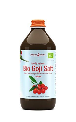 i Saft - Bio - 500ml Flasche (Schnapsglas Desserts)