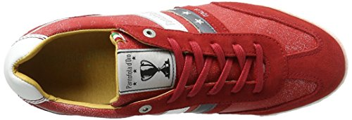 Pantofola d'Oro Vasto Funky Uomo Low, chaussons d'intérieur homme Rot (Racing Red)
