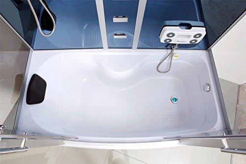Dampfdusche Duschkabine Badewanne Glasdusche Sauna 3in1 LXW-JS613 - 2