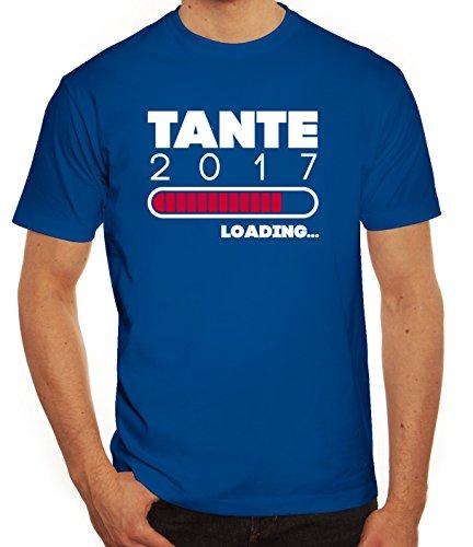 Geschenkidee Herren T-Shirt mit Tante 2017 Loading... Motiv von ShirtStreet Royal Blau