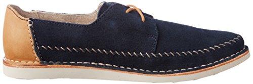 Clarks - Brinton Craft, Scarpe stringate Uomo Blu (Navy Suede)