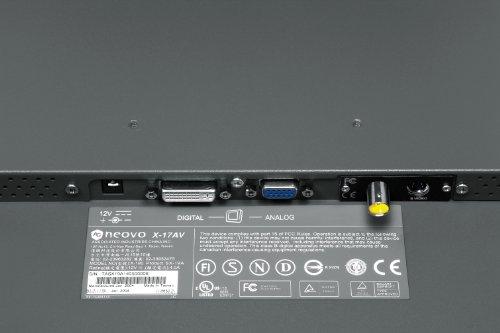 AG Neovo X 17 17 Inch Widescreen LCD Monitor Black Monitors