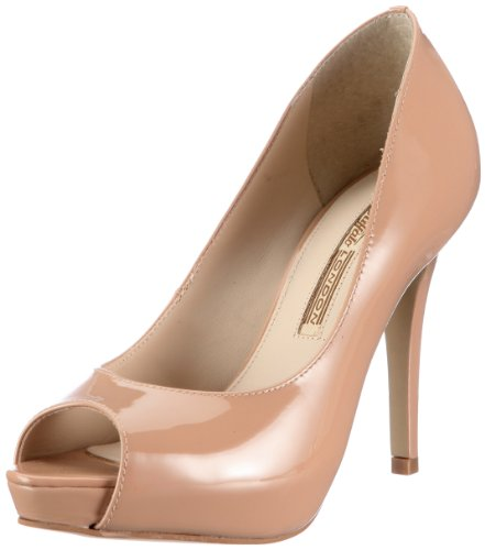 Buffalo London 19123-847 PATENT SOFT 118357, Damen Pumps, Beige (FORGET ME NOT 01), EU 41