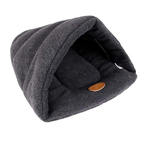 Easylifer Haustierbett Haustierkissen Hundebett Katzenkissen Schlafsack für Katzen, Hunde, Kaninchen (M)