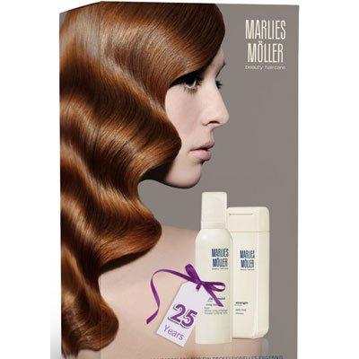 MARLIES MÖLLER Essential Reinigungs-Set (Daily Mild Shampoo + Strong Styling Foam), 1er Pack (1 x 1 Stück)