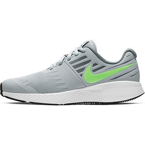 Nike Jungen Star Runner (gs) Leichtathletikschuhe, Mehrfarbig (Wolf Lime Blast/Cool Grey/White 008), 36 EU