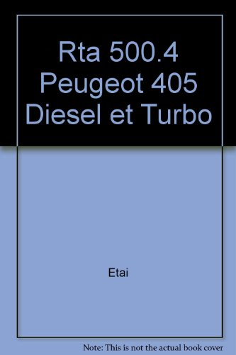 Revue technique de l'Automobile : Peugeot 405