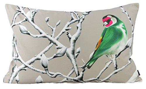 Traumkissen Dekokissen Kissenhülle Zierkissen Winterkissen KÖNIGSFISCHER - grün--