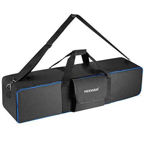 Neewer Fotostudio Transporttasche 105 x 25 x 25 cm mit Schultergurt und Griff für Lichtständer, Stativ, Studioschirm, Monolicht, LED-Licht, Blitz und andere Zubehör (blau)