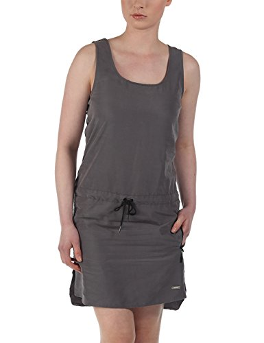 Bench Gathers - Robe - Manches courtes - Femme Gris (Smoked Pearl)