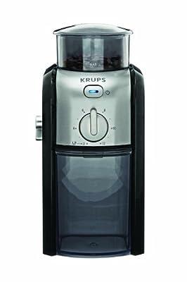 Krups Coffee grinder GVX2 - coffee grinders (Black) by Krups