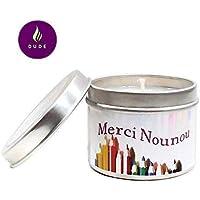 Bougie Parfumée au Choix Merci Nounou Bougie Naturelle Cadeaux Nounou Merci Cadeaux Cadeaux Personnalisés Cadeau Noël Cadeau Anniversaire