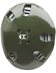 Cliff Keen E58–Protector de cabeza - 1242539, One Size, Verde oscuro