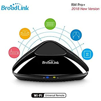 Broadlink RM Pro+ WiFi Smart Home all in one automazione apprendimento telecomando universale compatibile per dispositivi iOS/Android (nero, EU standard) …