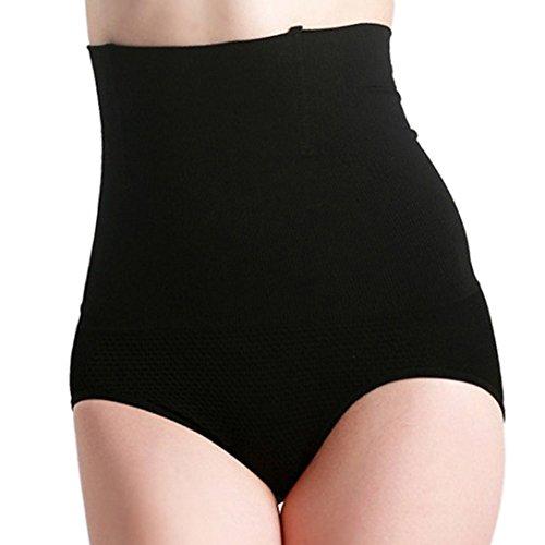 Avitalk - sous-vêtements à Taille Haute Gastrique Ceinture Respirable - Récupération Abdominale Ventre Taille Après la Grossesse - pour Les Femmes et la Maternité - Noir - Taille L
