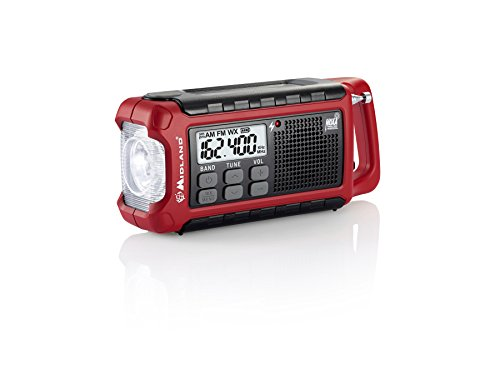 Midland Emergency Crank Radio (pack of 1 Ea)