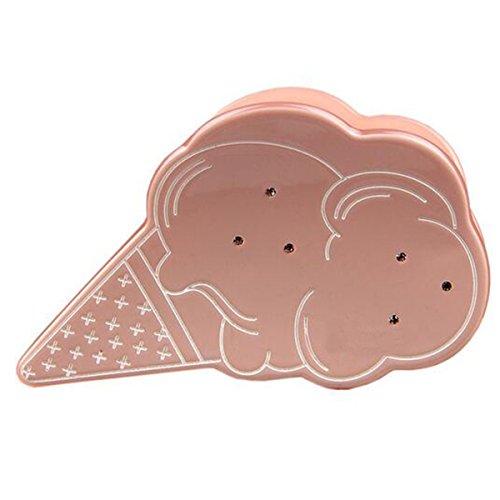 Mai Dou Essigsäure Eis Modellierung Kopfbedeckungen,Pink-OneSize Eis Mais