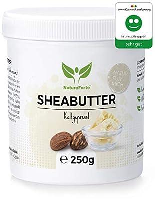NaturaForte Sheabutter 250g Rein