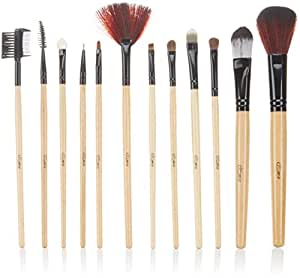 Glow 12 Makeup Brushes Set in British Flag Case