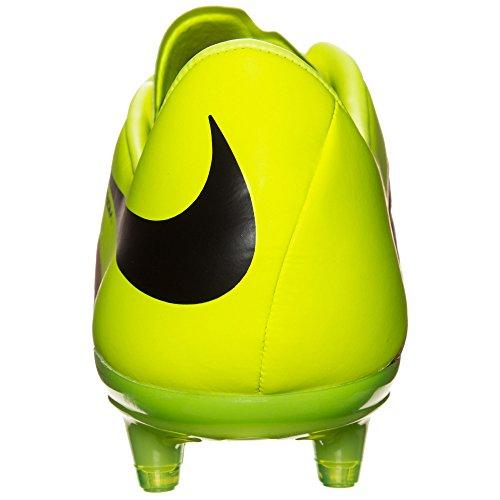 Nike  Hypervenom Phinish LTHR FG, Herren Fußballschuhe Gold / Schwarz / Grün (Leinwand / Schwarz-Volt)