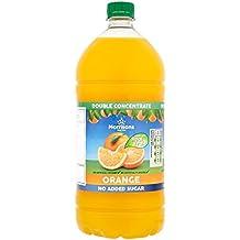 Morrisons No Added Sugar Double Concentrate Orange Squash, 1.5L