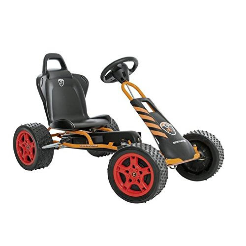 Ferbedo Go-Kart cross-runner Rennwagen (orange/schwarz)