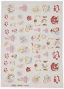 Renkalik renkalikqsipr15435x 50cm Matrimonio Seda impresión Hoja de Papel (Juego de)