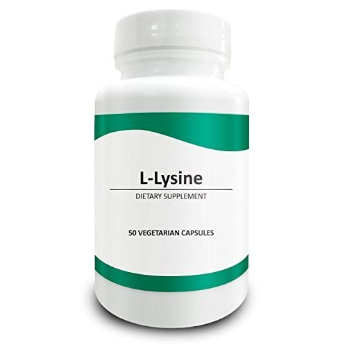41PsVUdbXqL. SS500  - Pure Science L-Lysine - 750mg with 5mg BioPerine (Natural Bioavailability Enhancer for Better Absorption) - 50 Vegetarian Capsules