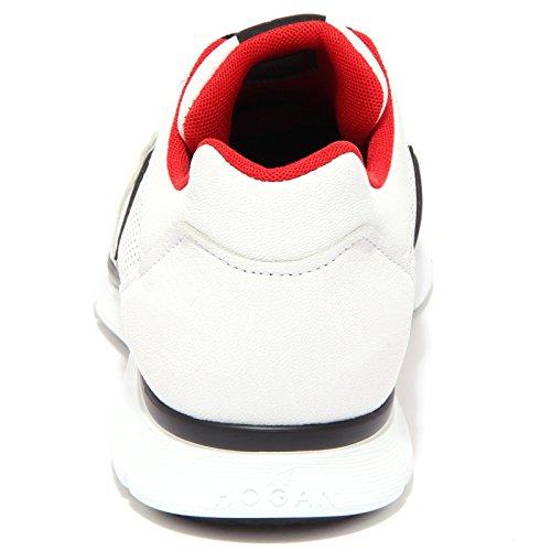 3744Q sneaker uomo scarpa bianco HOGAN CLUB sneaker men Bianco