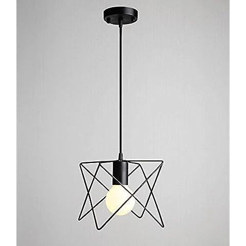 Metallo Vintage Creative geometrica lampadario pendente Lighting