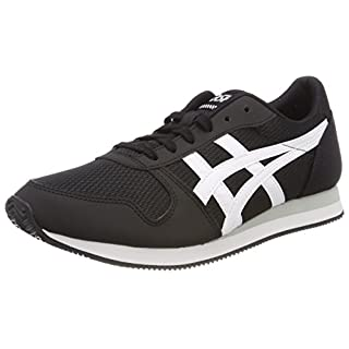 ASICS Men's Curreo II Running Shoes, (Black/White 9001), 10 UK 45 EU