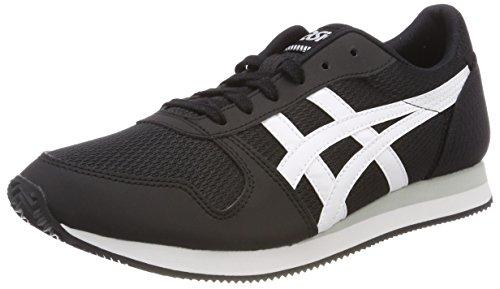 Asics Herren Curreo II HN7A0-9001 Sneaker, Schwarz (Black/White 9001), 43.5 EU