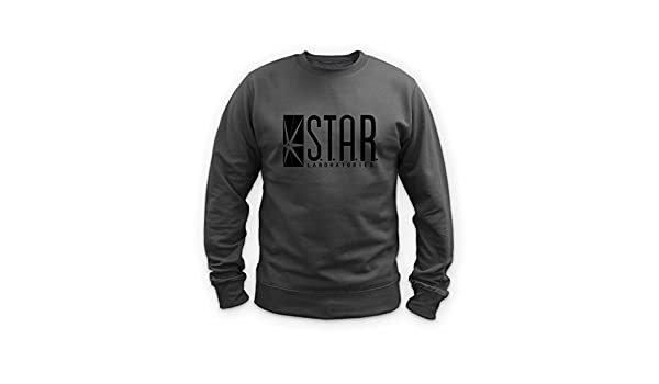 6cb854a3e32 Illegal Art Boutique Star Laboratories - Sweat-Shirt - Gris - Small   Amazon.fr  Vêtements et accessoires