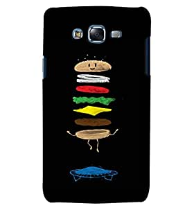 Citydreamz Burger/Junk Food/Abstract Hard Polycarbonate Designer Back Case Cover For Samsung Galaxy J2 Pro