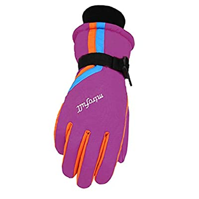 Frauen Winter Windproof Wasserdichte Ski Handschuhe Ski Gear Sport Handschuhe, 01