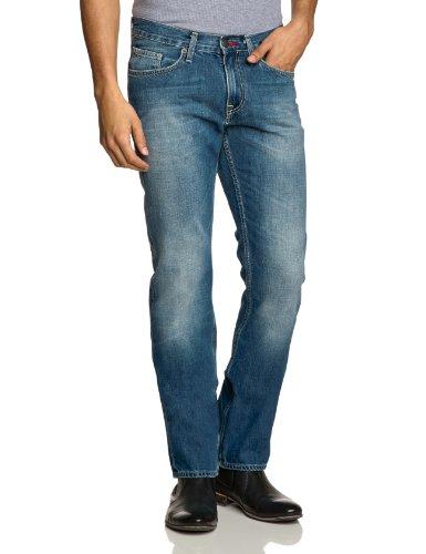 Tommy Hilfiger Herren Jeans Normaler Bund MERCER B LIGHT BLUE / 867852214 Blau (Light Blue 460)