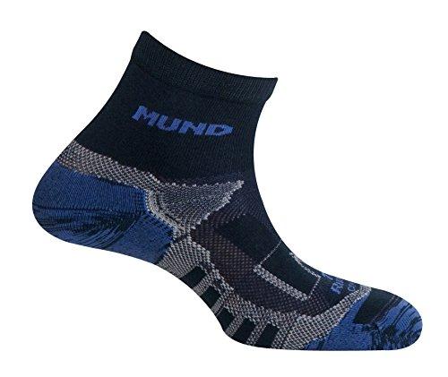 Mund Socks–Trail Running, Colore: Navy, Taglia EU 42–45